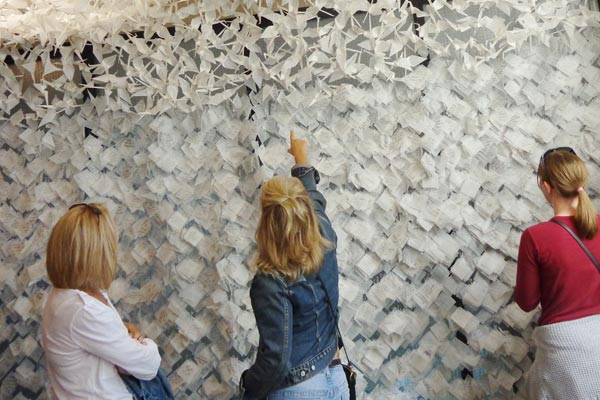 Over 9000 notes on Wall of Hope