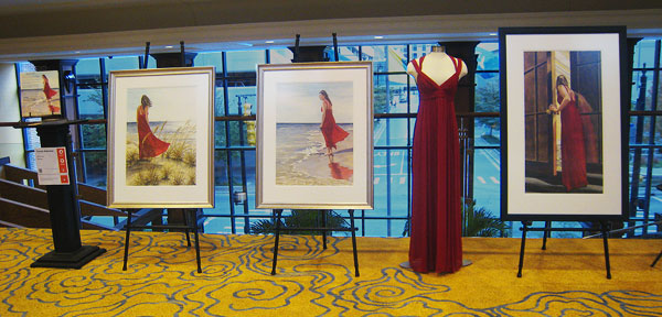 Watercolor paintings displayed at ArtPrize 2010